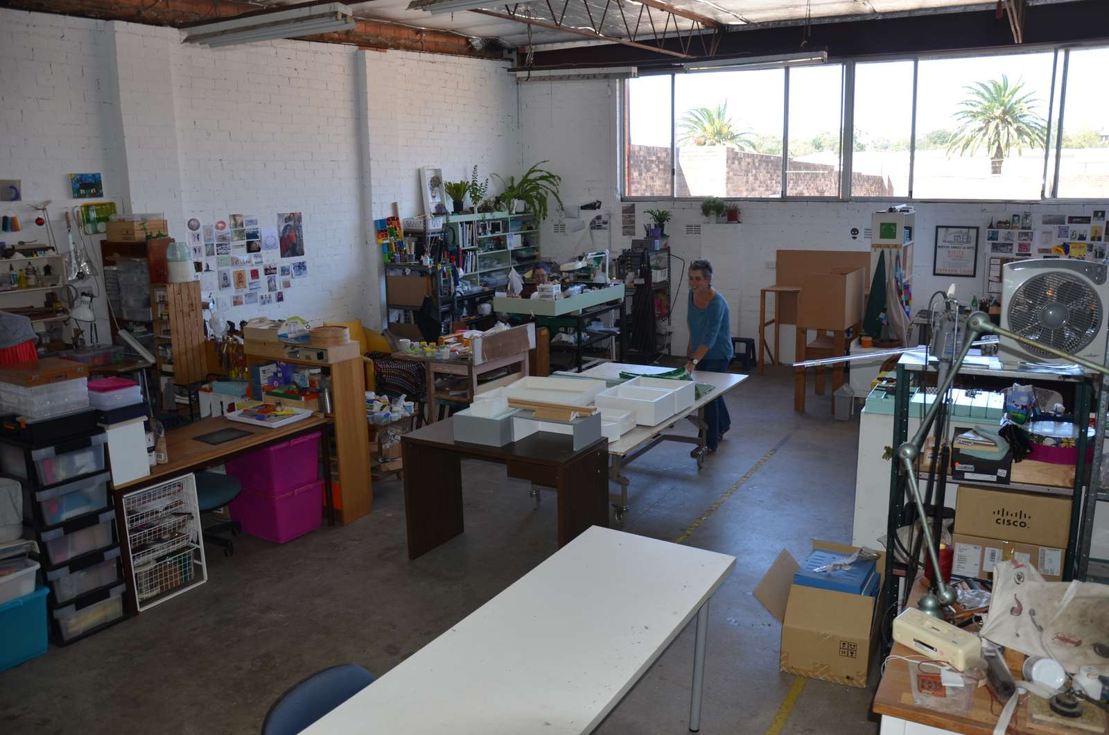 SquarePeg Studios in Sydney has workspaces available for use by aspiring or practicing jewellery designers.