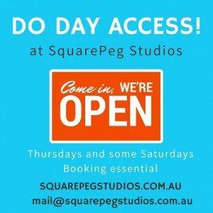 Day access at SquarePeg Studios