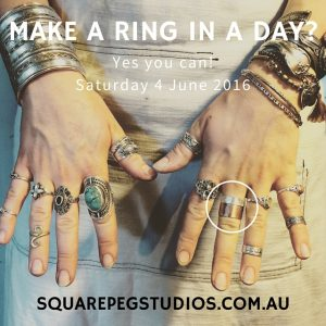 Make a Ring in a Day workshop