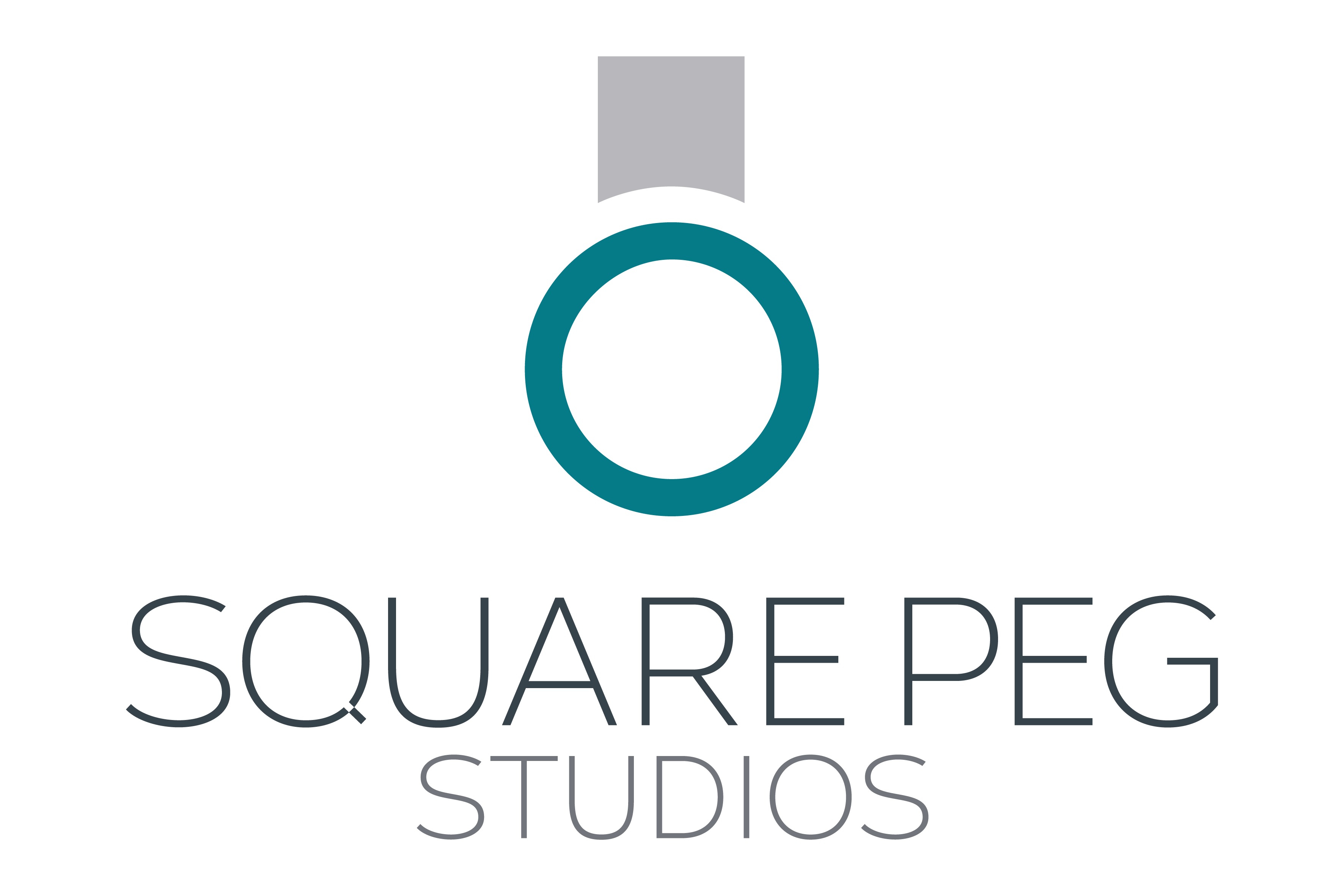 SquarePeg Studios ring logo