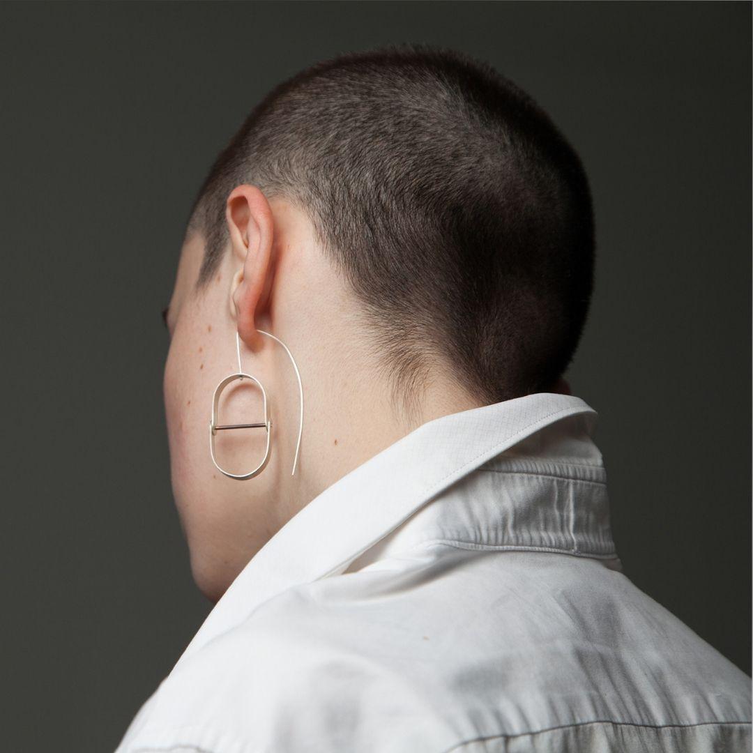 Earrings by Aris Ioannou-Marsh